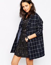 Sessun Oncle Georges Coat In Check Amiral