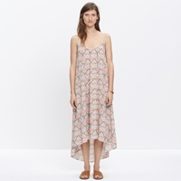 Madewell North Shore Cover Up Dress In Electric Stitch