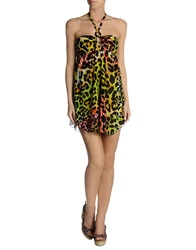 Blugirl Blumarine Beachwear Cover Ups Acid Green