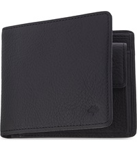 Mulberry Leather Coin Wallet Black