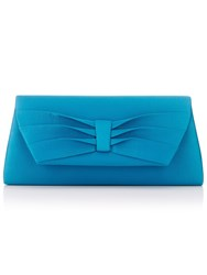 Jacques Vert Pleated Detail Bag Turquoise