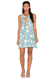 For Love And Lemons Sweet Jane Swing Dress Blue