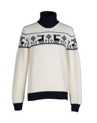 Altea Knitwear Turtlenecks Men White