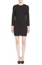 Amour Vert 'Tatatha' Ponte Knit Shift Dress Black