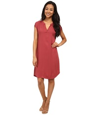 Allen Allen Splitneck Dress Apple Women's Dress Green