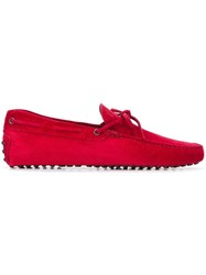 Tod's Classic Loafers Red