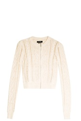 Isabel Marant Cable Knit Cardigan Ivory
