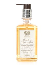 Damascena Rose Orris And Oud Hand And Body Wash 10 Oz. Antica Farmacista