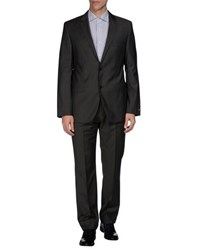 Boss Black Suits And Jackets Suits Men Grey