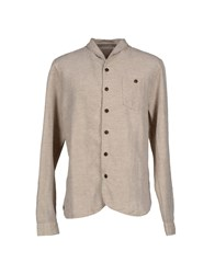 Uniforms For The Dedicated Shirts Shirts Men Beige