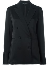 Rag And Bone Double Breasted Blazer Black