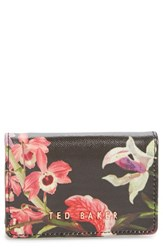 Ted Baker Women's London Lost Gardens Leather Coin Purse