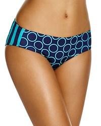 Dkny Close Up Side Panel Hipster Bikini Bottom Currant