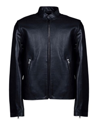 Surface To Air Leather Outerwear Black