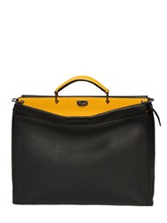 Fendi Peekaboo Textured Leather Bag