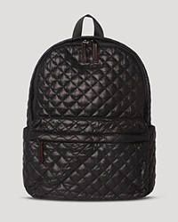 M Z Wallace Mz Wallace Backpack The Metro Black