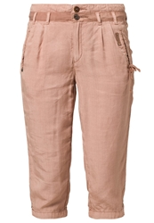 Khujo Vemta Trousers Peach Pink