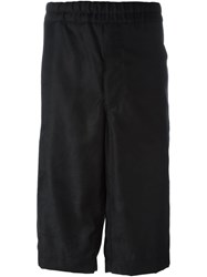 Alexander Mcqueen Loose Fit Shorts Black
