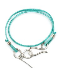 1 100 Toggle Closure Wrap Bracelet Blue