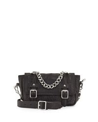 Ash Britt Crossbody Satchel Bag Black