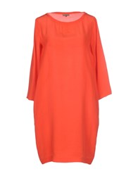 Maliparmi Dresses Short Dresses Women Orange