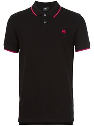 Paul Smith Ps By Contrast Stripe Polo Shirt Black