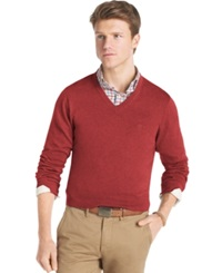 Izod Big And Tall Sweater Fine Gauge V Neck Sweater