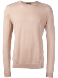 A.P.C. 'Spy' Knit Jumper Nude And Neutrals