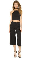 Black Halo Sheena Two Piece Jumpsuit Black