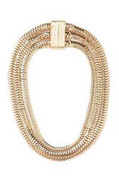 Forever 21 Flat Chain Layered Necklace