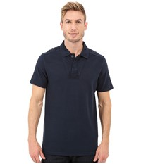 Timberland Great Brook Slub Polo Dark Sapphire Men's Clothing Blue