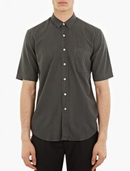 Our Legacy Green Short Sleeved Shirt