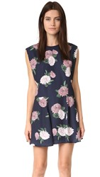 Keepsake Up For Air Dress Navy Floral