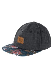 Billabong Cortez Cap Black Floral Mottled Grey