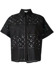 Kenzo 'Flying Logo' Shirt Black