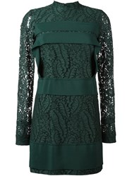 N 21 No21 Lace Overlay Dress Green