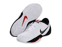 Nike Air Ring Leader Low White Black Sport Red Men's Basketball Shoes