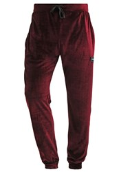 Jaded London Tracksuit Bottoms Burgundy Bordeaux