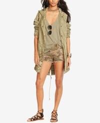 Denim And Supply Ralph Lauren Fish Tail Military Parka Soldier Olive