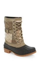 Kamik Women's Sienna Boot Taupe Leather