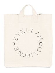 Stella Mccartney Cotton Canvas Beach Bag