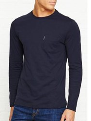 Aquascutum London Cullen Crew Neck Tee Navy