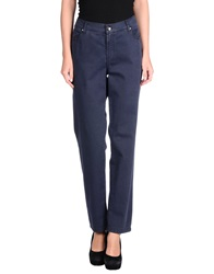22 Maggio Casual Pants Dark Blue