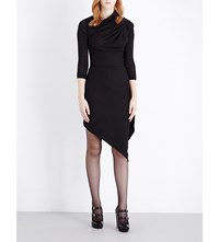 Anglomania Arro Wool Jersey Dress Black