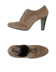 Progetto Lace Up Shoes Khaki