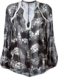 Giambattista Valli Tunic Shirt Black