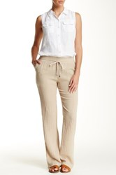Three Dots Cover Up Pant Beige