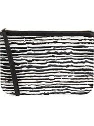 Pierre Hardy 'Vibrations' Clutch Black