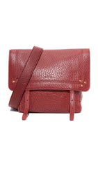 Jerome Dreyfuss Jeremie Small Shoulder Bag Burgundy