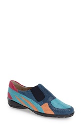 Vaneli 'Attie' Colorblock Slip On Flat Women Light Aqua